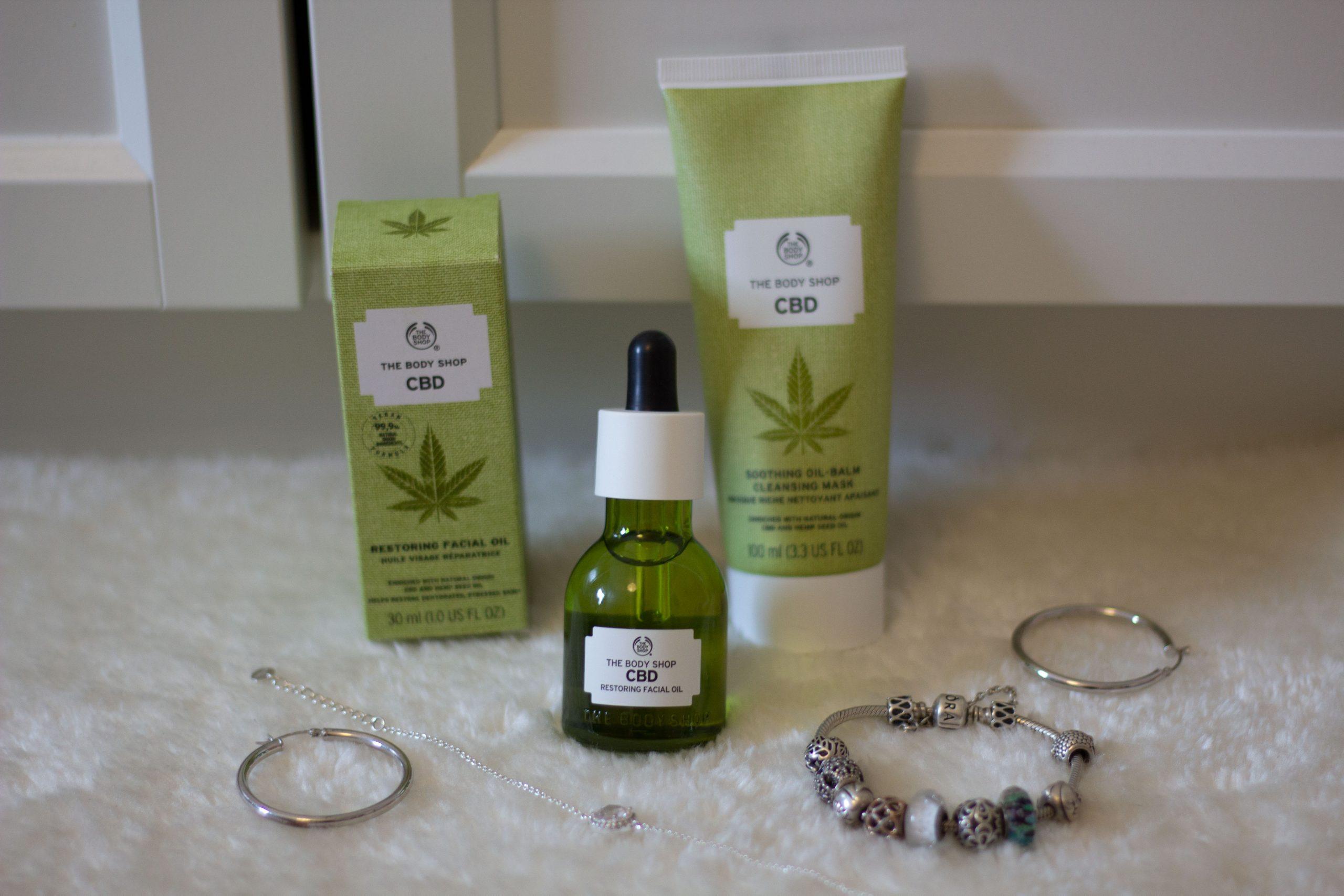 The Body Shop : soins visage au CBD