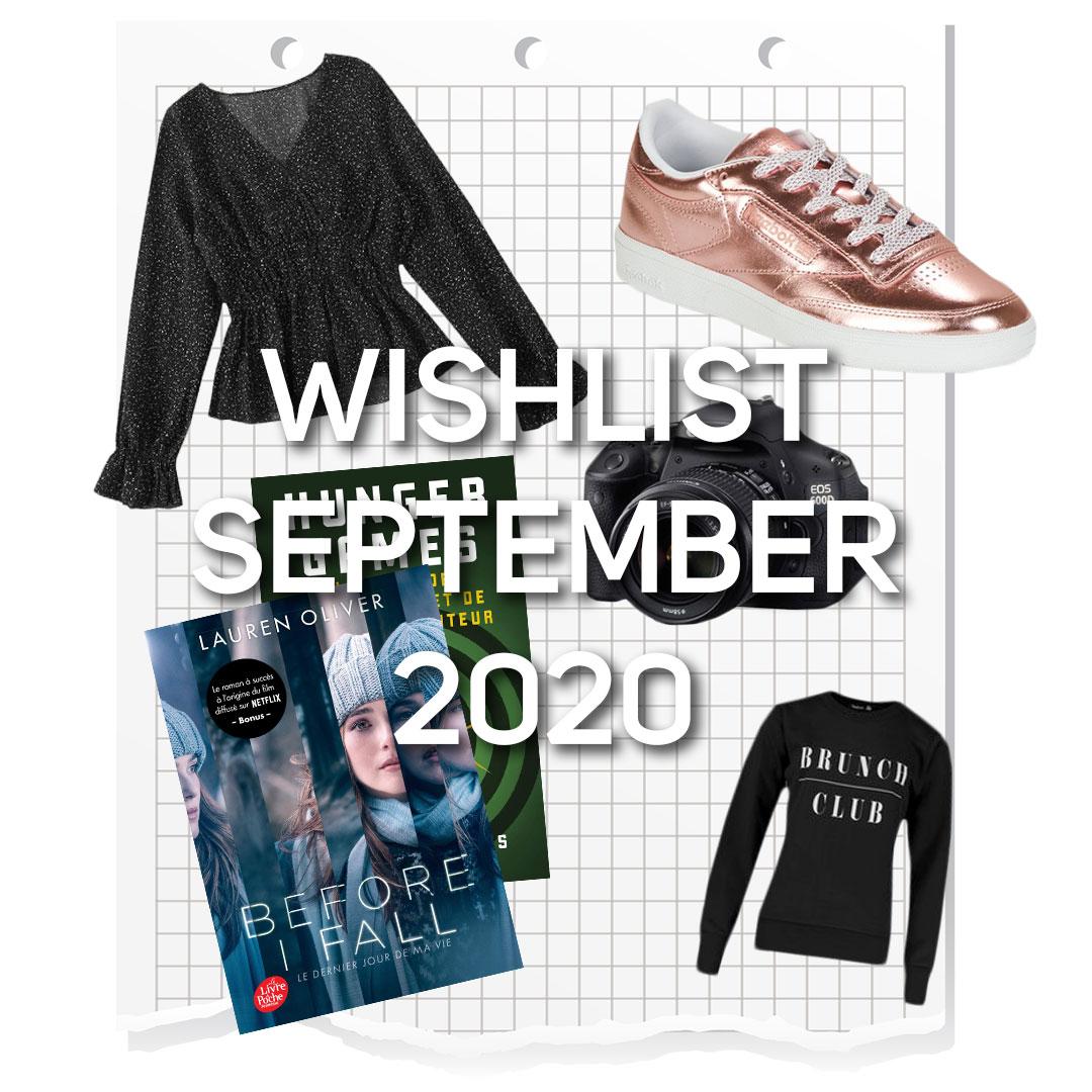 What's on my wishlist | September 2020