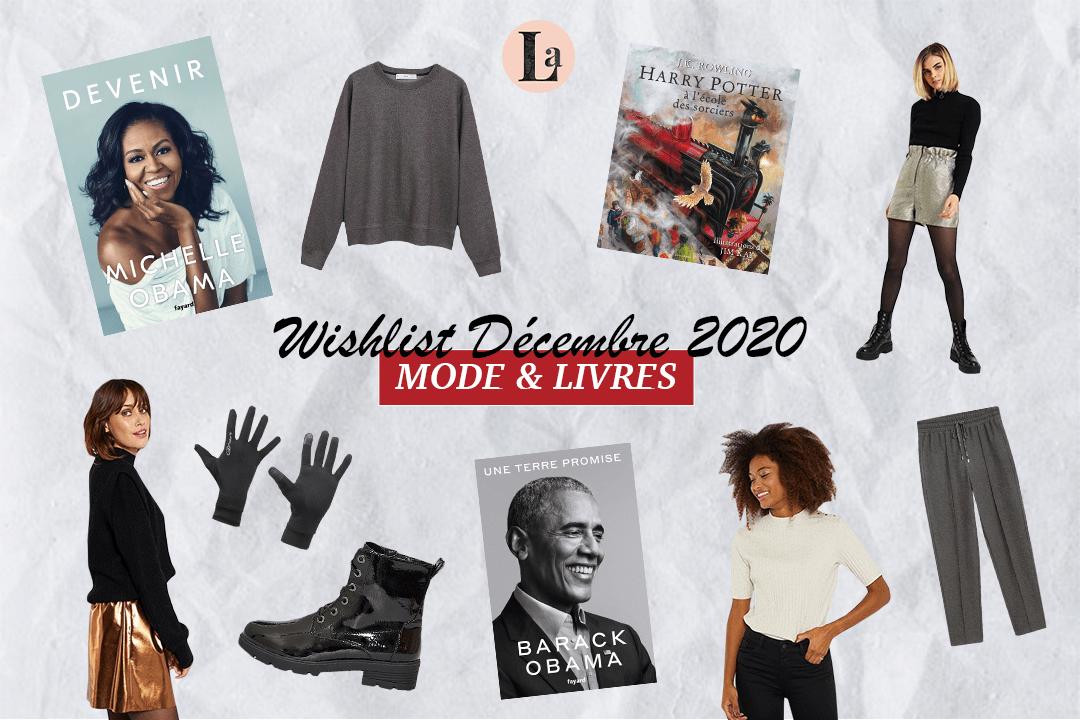 Wishlist de décembre 2020 | Mode & livres